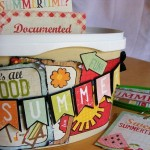 Upcycled Summer Memories Container-