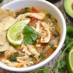 Mexican Chicken Lime Soup-